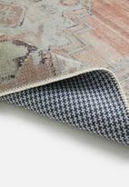 Hertex Fabrics - Eliza rose quarts rug - multi