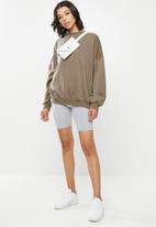 Missguided - Washed sweatshirt - brown