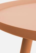 Present Time - Elle low side table - sand brown