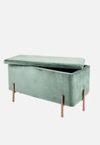 Present Time - Snog seat - green