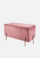 Present Time - Snog seat - pink