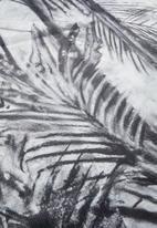 Hertex Fabrics - SK tropical rug - charcoal