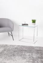 Sixth Floor - Cilla side table - chrome