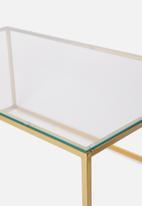 Sixth Floor - Cilla coffee table - gold