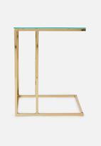 Sixth Floor - Cilla c side table - gold