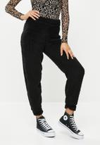Missguided - Borg 90's trackpants - black