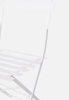 Sixth Floor - Bistro furniture set - white