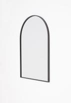Sixth Floor - Window metal mirror - black