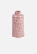 Present Time - Nostalgai vase high - pink