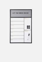 Present Time - Serene week planner