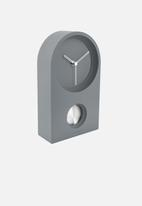 Present Time - Taut wall/table clock - mouse grey