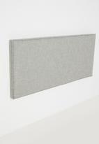 Sixth Floor - Flange trim headboard - grey