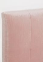 Sixth Floor - Panel headboard - blush pink