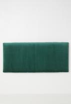 Sixth Floor - Panel headboard - emerald green