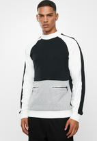 Only & Sons - Owen high neck sweater - multi