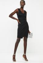 Sissy Boy - Lacey bodice dress - black