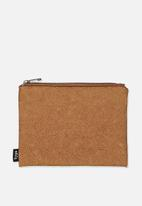 Typo - Campus pencil case - tan