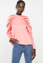 Vero Moda - Jarrow long sleeve blouse - pink