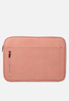 Typo - Take charge 13 inch laptop cover - pink