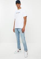Tommy Hilfiger - Tjm small logo short sleeve tee - white
