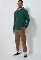 Superbalist - Basic hoodie pullover sweater - green
