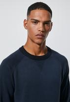 Superbalist - Premium crew knit - navy