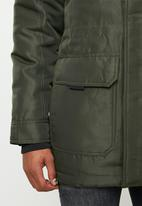 Only & Sons - Martin parka - green