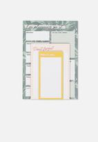 Typo - Notepad 3 pack - multi