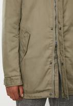 Only & Sons - Scott parka jacket - khaki