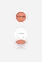 MAC - Loud and clear eye shadow - paint by umber