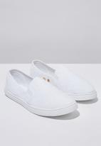 Cotton On - Holly slip on  - white