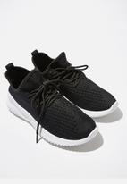 Cotton On - Lydia sock trainer - black