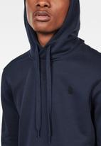 G-Star RAW - Premium core hooded sweat - navy