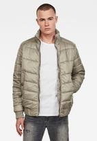 G-Star RAW - Meefic quilted overshirt - neutral