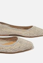 Cotton On - Celia square toe ballet - grey