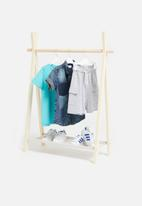 H&S - Kids clothes rack - natural
