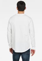 G-Star RAW - Lash long sleeve tee - white
