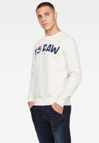 G-Star RAW - G-star gr sweater - cream