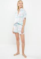 Superbalist - Sleep shirt  & shorts set - multi
