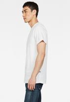 G-Star RAW - Base short sleeve tee - white