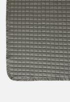 Sixth Floor - Cotton quilt - grey
