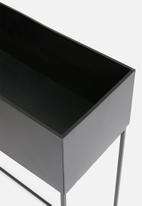 H&S - Maxwell planter set of 3 - black
