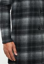 Jack & Jones - J-price wool coat - grey