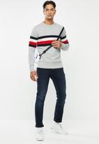 Tommy Hilfiger - Soft global stripe sweater - multi