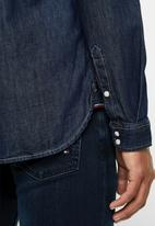 Tommy Hilfiger - Regular denim shirt - navy