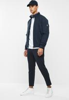 Tommy Hilfiger - Stretch harrington jacket - navy