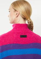 Diesel  - M-cara pullover knit top - pink