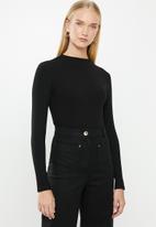 MANGO - Vicki T-shirt - black