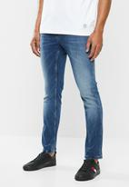 Tommy Hilfiger - Straight denton jeans - blue