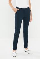MANGO - Cola trousers - navy